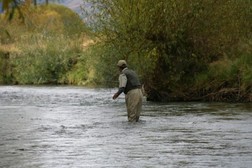 NZ Fly Fishing - Autumn colors