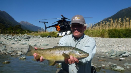New Zealand Fly Fishing Expeditiions - Heli fishing