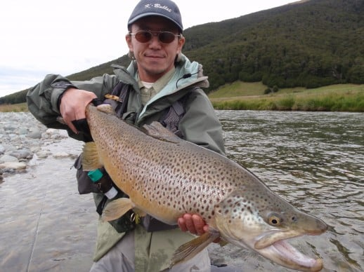 11.75lb New Zealand Brown Trout