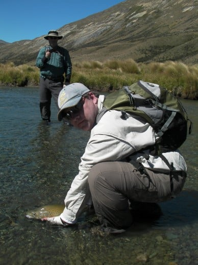 New Zealand Fly Fishing Expeditions - team work