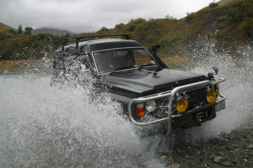 New Zealand Fly Fishing Expeditions - 4wd drives are the way forward