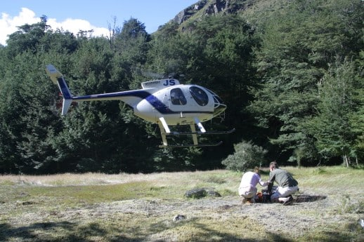 New Zealand Fly Fishing Expeditions - Heli Fishing Pick Up