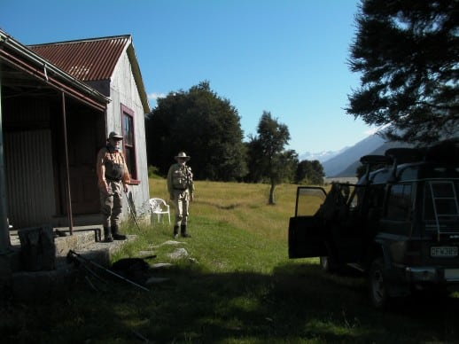 New Zealand Fly Fishing Expeditions - A couple of nights in a remote high country hut