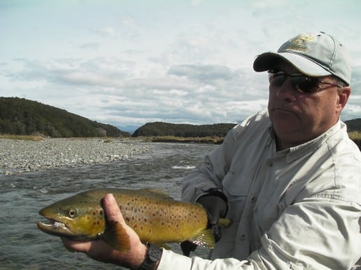 New Zealand Fly Fishing Expeditions - late season terrestrial action
