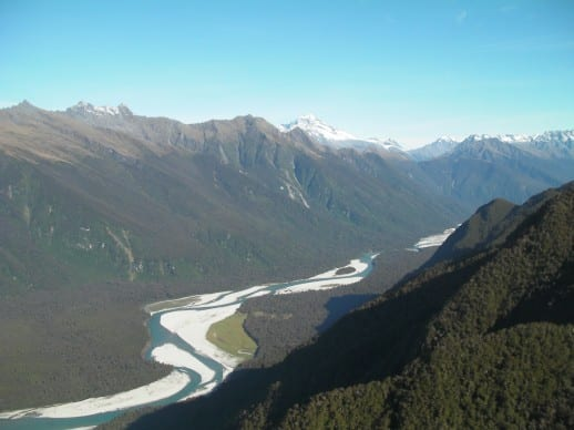 New Zealand Fly Fishing Expeditions - Stunning scenery