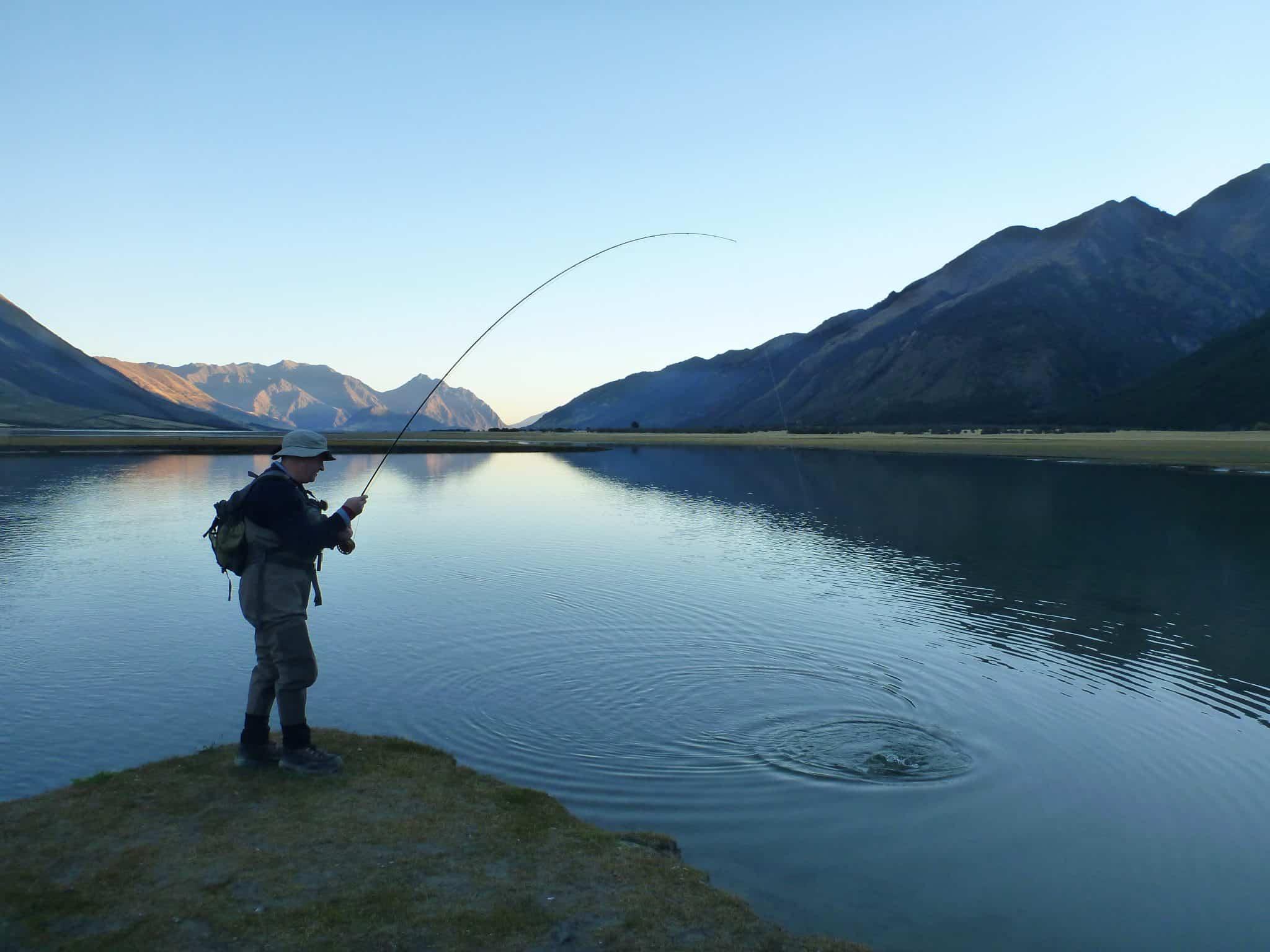Fishing for Fly girl fishing charters