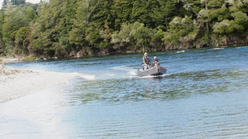 Drift boat fishing NZ